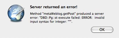 Typepad-Error